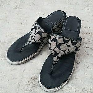 Shoes - Authentic Coach wedges